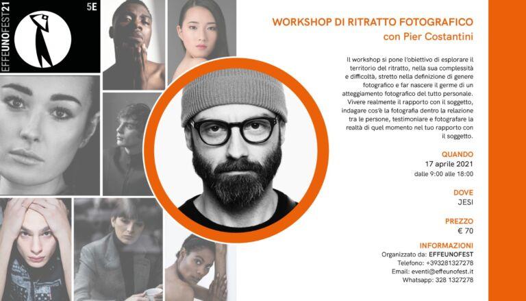 """Il Ritratto – Workshop fotografico """"Rinviato"""""""